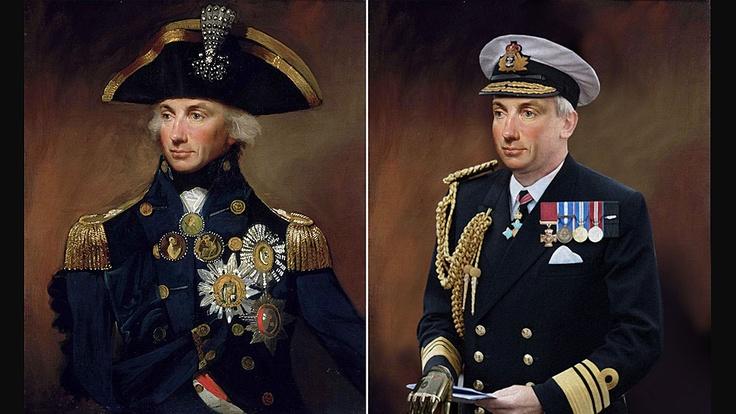 Artistas recriam personagem históricos com visual moderno - Almirante Horatio Nelson