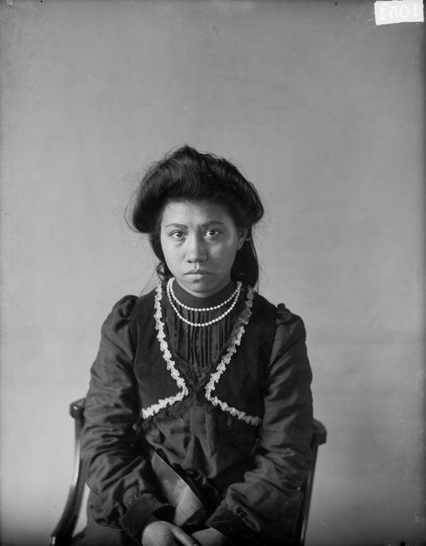 Jariuk Uklenk (aka Rose Hilderbrand) - Cherokee - 1905.