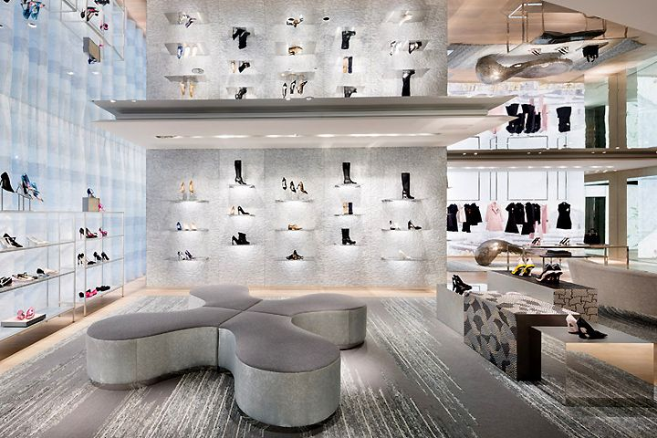 Dior flagship store by Peter Marino, Tokyo   Japan luxury fashion