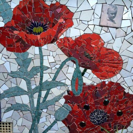 Kim Grant Poppy Mosaic