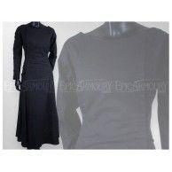 Priestess Dress Black. Item can be found at http://www.larpcanada.com