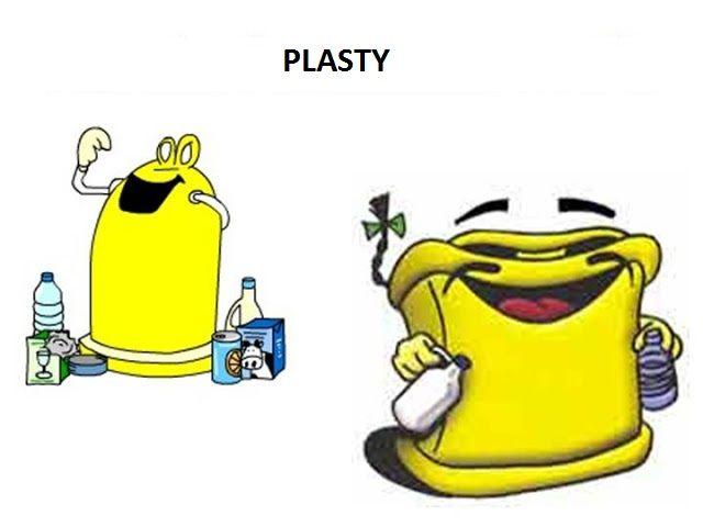 triedenie odpadu -plast