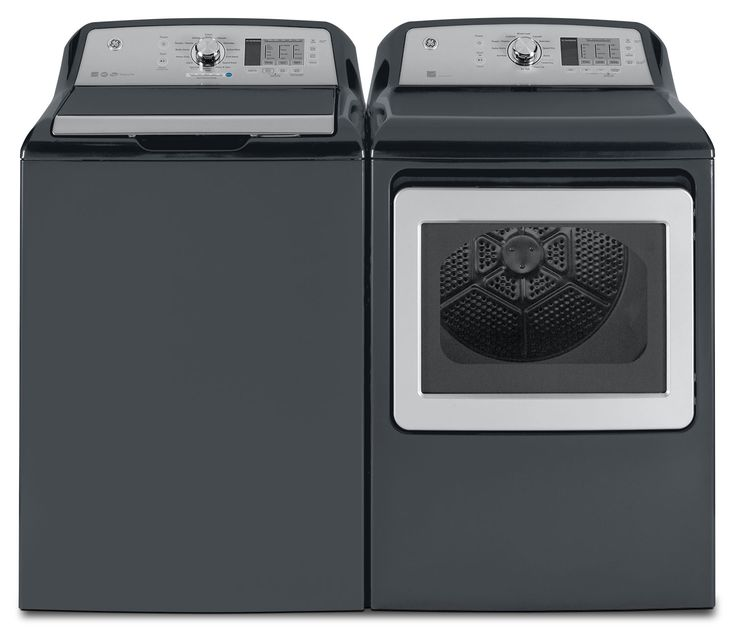 Washers and Dryers - GE 5.3 Cu. Ft. Top-Load Washer and 7.4 Cu. Ft. Electric Dryer $1498