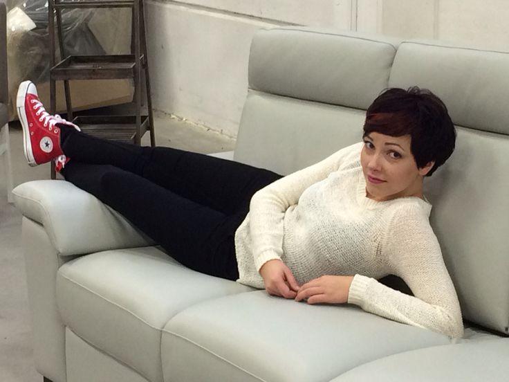Relaxing in Pohjanmaan sofa