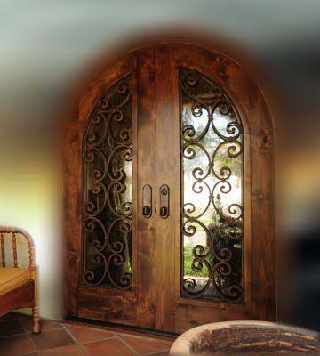 Best 25 puertas de madera rusticas ideas on pinterest for Diseno de puertas de madera