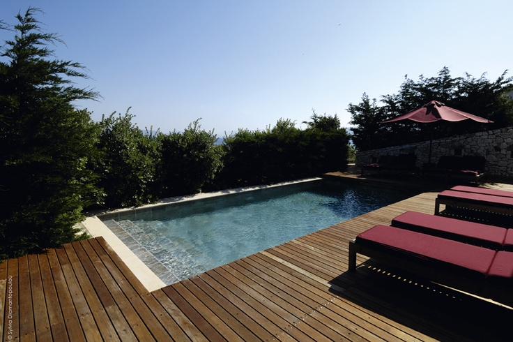 Private shared swimming pool