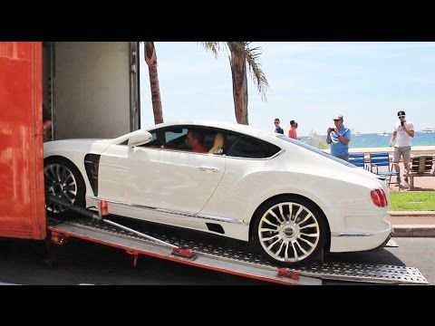 Mansory Bentley Continental GT Delivery in Cannes - YouTube