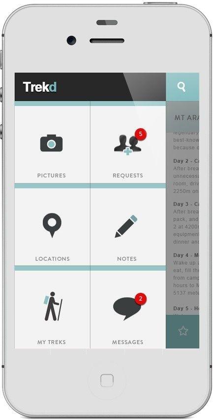 Inspiration mobile #2 : Menu et système de navigation   Blog du Webdesign
