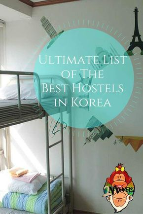 Heading backpacking in South Korea? Here you'll find info on the best hostels in Seoul, on Jeju Island, in Gyeong-ju, Sokcho, Daegu, Jeonju, Gwangju and in Incheon.  We have provided you the ultimate list of the Best Hostels all over Korea!   We include r