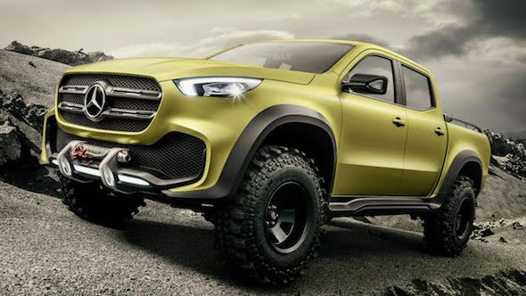 Mercedes-Benz May Bring Compact Truck to America