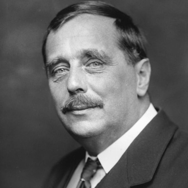 H.G. Wells, author of many classics that include: War of the Worlds and The Time Machine.