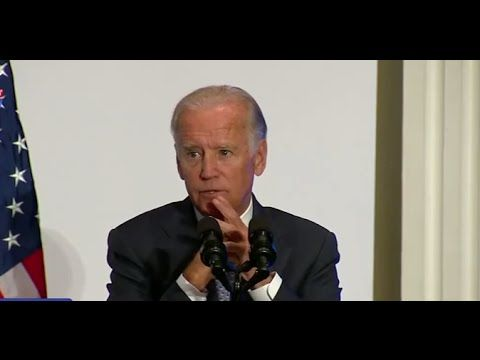 What Exactly Did Joe Biden Say Offstage After His Speech?