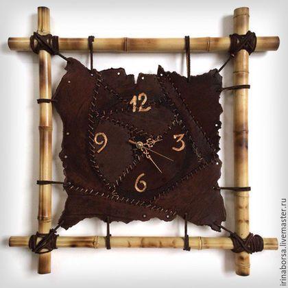 Часы для дома ручной работы. Ярмарка Мастеров - ручная работа. Купить Часы настенные MARSEL. Handmade. Коричневый, часы интерьерные