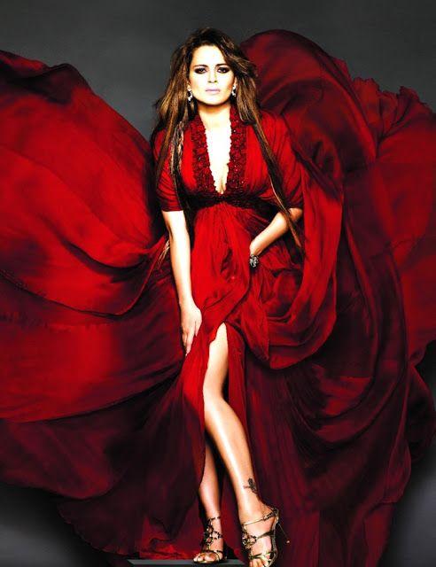 Maravillosos outfits de moda   Colección en Rojo