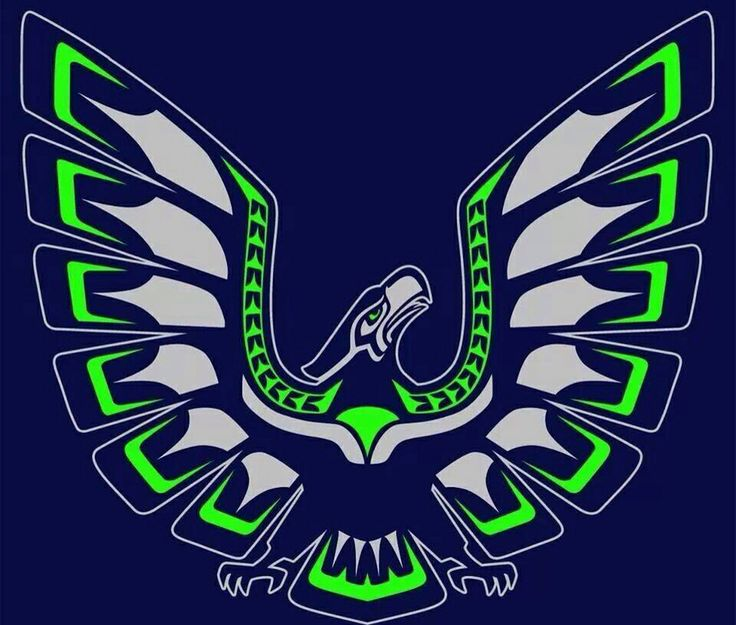 Seahawks Embroidery Design