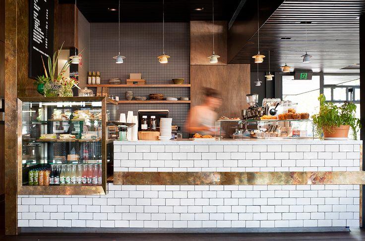 Top Paddock Cafe, Richmond, coffee, coffee shop, white tiles, subway tiles, espresso, counter restaurant design