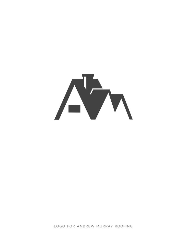 Andrew Murray Roofing Logo - Graphis