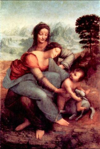 KPIX | Sant'Anna, la Vergine e il Bambino con l'agnellino
