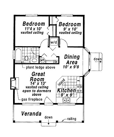 House Plans moreover Monolithic Dome Home Floor Plans An Engineers Aspect A94a01981cf9e297 together with Southern Vernacular Dog Trot Styles furthermore 188940146840848654 together with 436427020115130063. on tiny house on s floor plans one story