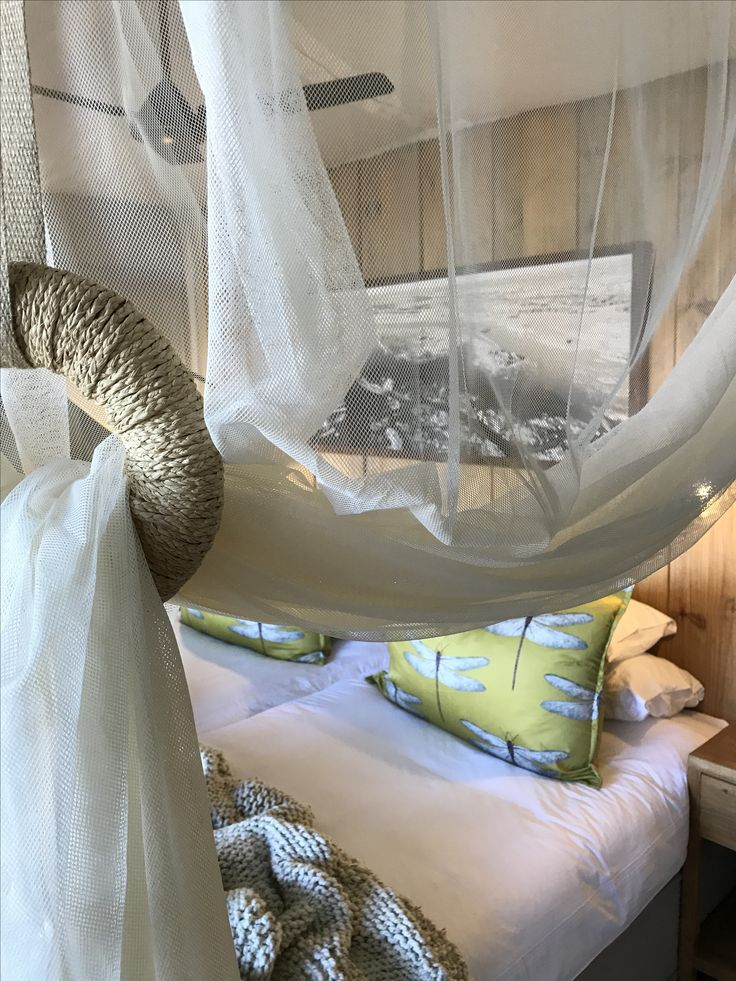 Soft and beautifully finished mosquito nets.