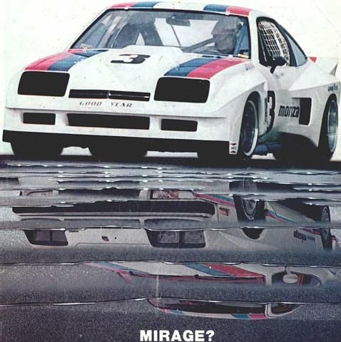 Monza Mirage race car that inspired the street version.