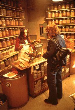 Pike Place Market spice shop, 1978