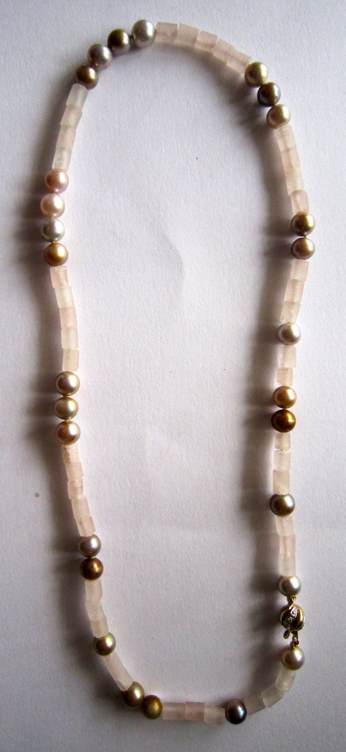 Pearl Necklace by kochiokada on Etsy