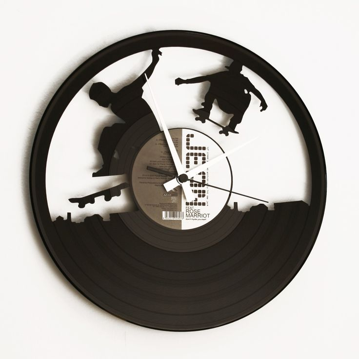 Disc'O'Clock Ceas de perete Sk8