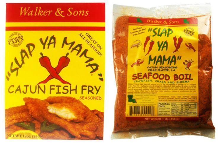 Slap ya mama cajun seafood seasonings are the real deal for Cajun fish seasoning