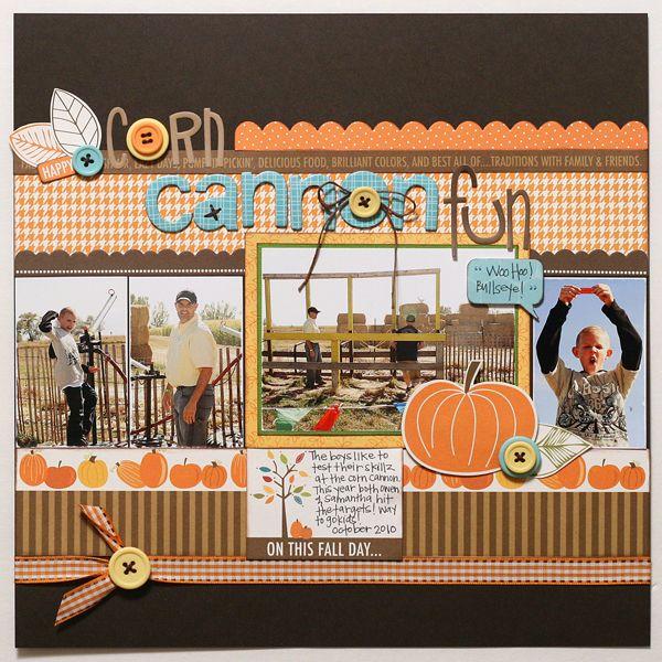 #papercrafting #scrapbook #layout idea: Jana Eubanks-beautiful page!
