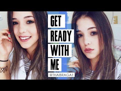 GRWM/Se Arrume Comigo - Make Básica Preferida - YouTube