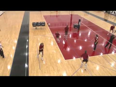 "Condition Players Using the ""Knee Pad Touch Drill!"" - Volleyball 2016 #1 - YouTube"