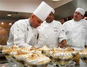 to be a pastry chef you must organized and very detail oriented.
