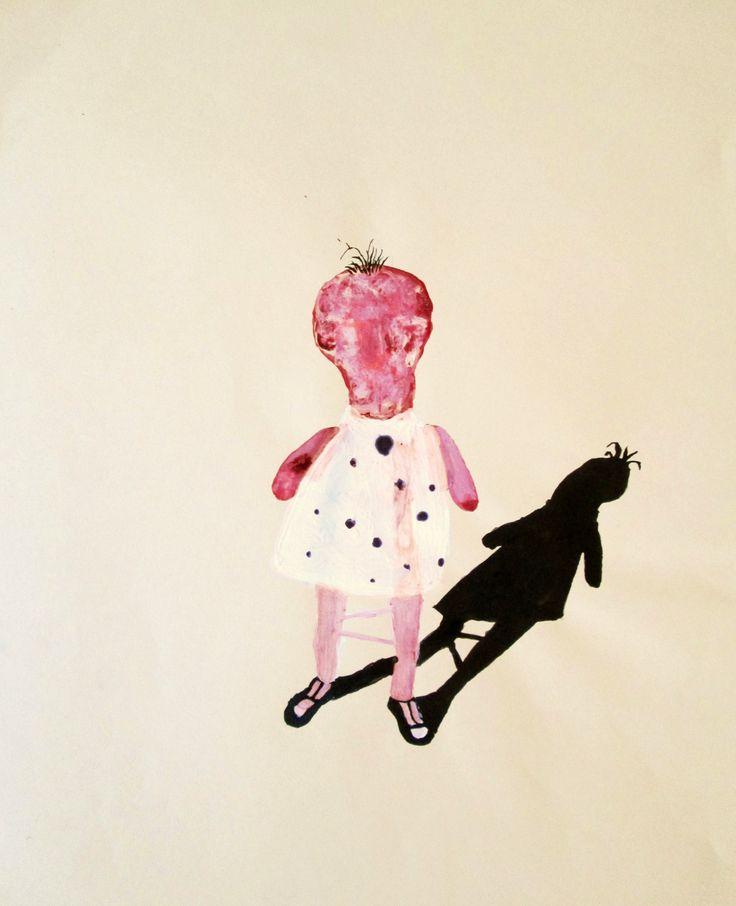 Bambina Atomica.disegno.2005