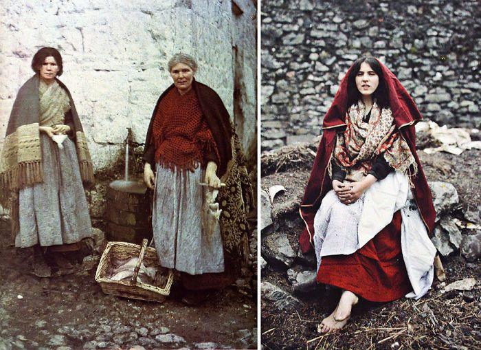 Traditional Irish Knitwear An Spideal Galway Ireland 1 May 1913