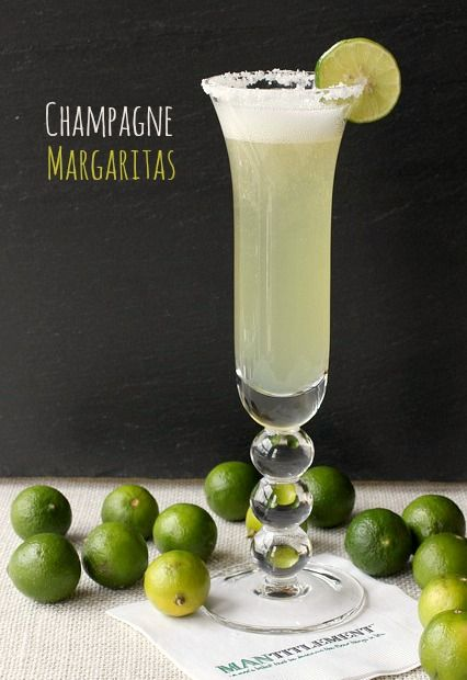 Champagne Margaritas! I want to try this recipe with Bourbon Smoked Salt.