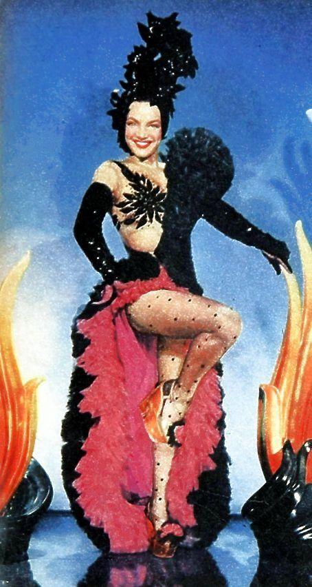 Carmen Miranda in 'Copacabana' (1947).