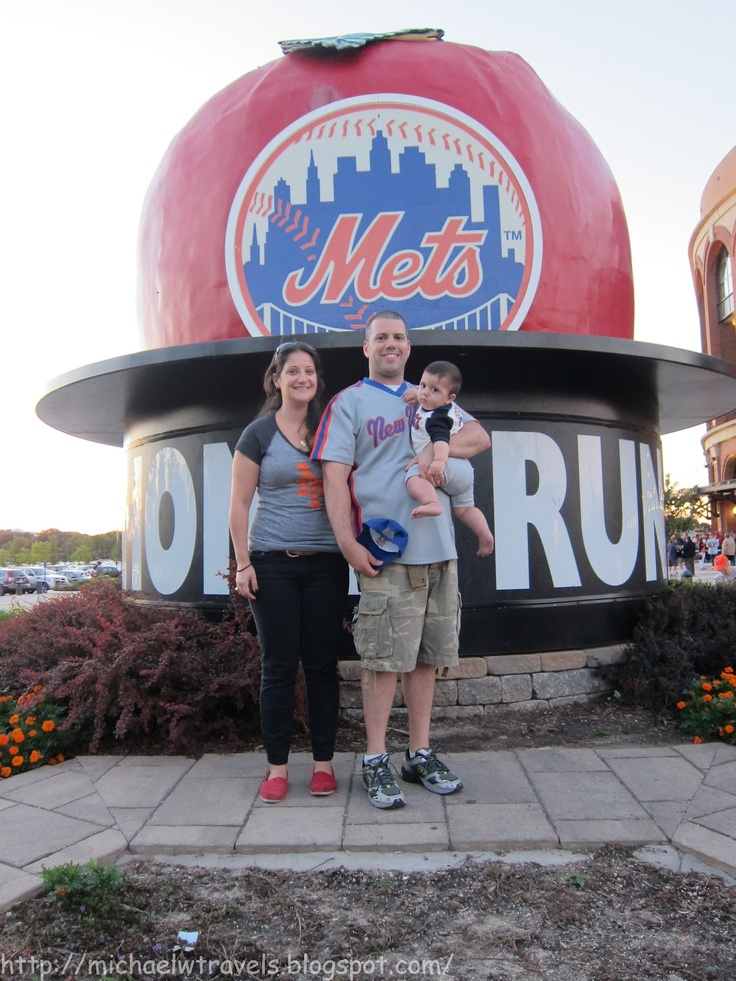 MichaelW Travels...: Off Topic: Lucas' First Mets Game and Win 4 Mets Tickets