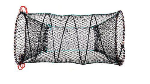 Foldable Portable Nets Trap Crayfish Sea Fish Fisherman High Quality L Size