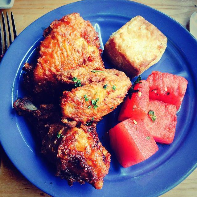 Fried Chicken Friday Blue Plate Special // more: http://bestofdining.net/cities/miami-blog/