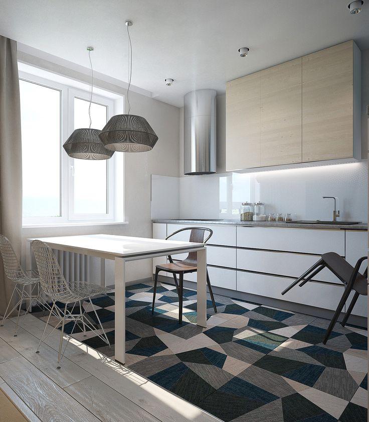 Витрина - Интерьер в современном стиле с Vitra   PINWIN - конкурсы для архитекторов, дизайнеров, декораторов