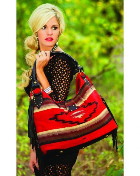 STS Ranchwear Reina Serape Large Handbag