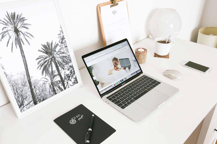 Desk inspo scandinavian style