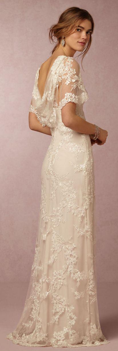 Best 25 Cowl wedding dress ideas on Pinterest  Vintage