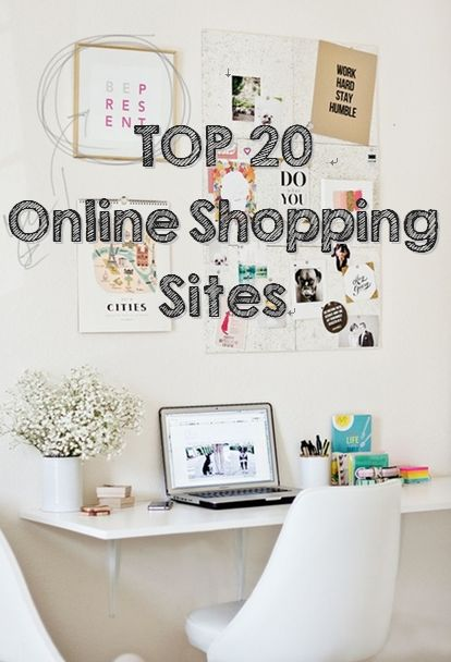 Pretty.Random.Things.: Top 10 Tuesday: Favorite Online Shopping Sites