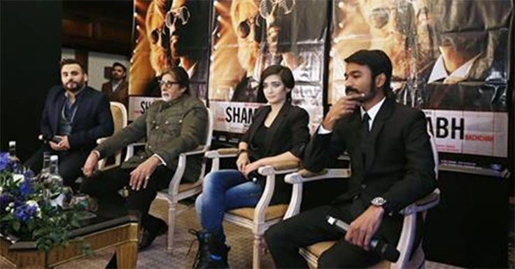 Video: Shamitabh fever grips London - read complete story click here.... http://www.thehansindia.com/posts/index/2015-01-30/Video-Shamitabh-fever-grips-London-128718