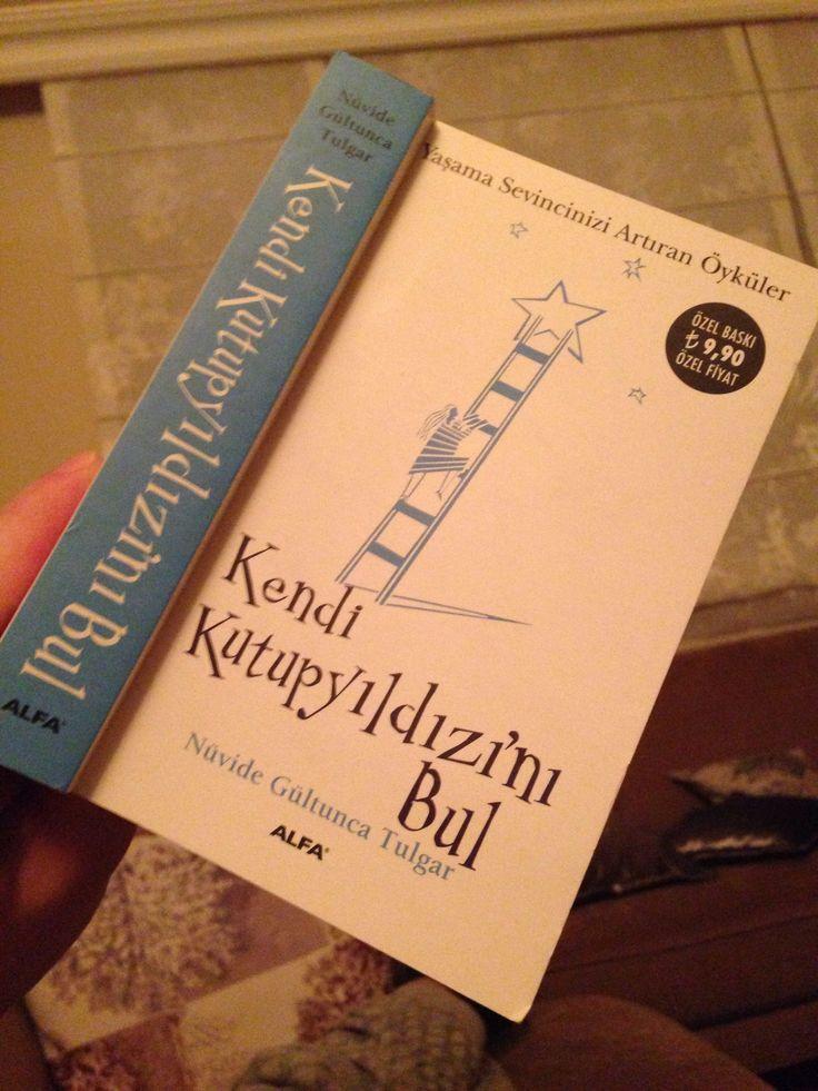 """Gelişmeye doymayan bir kişiliğim var.    """"Kendi kutup yıldızını bul""""   Yazar: Nüvide Gültunca Tulgar"""