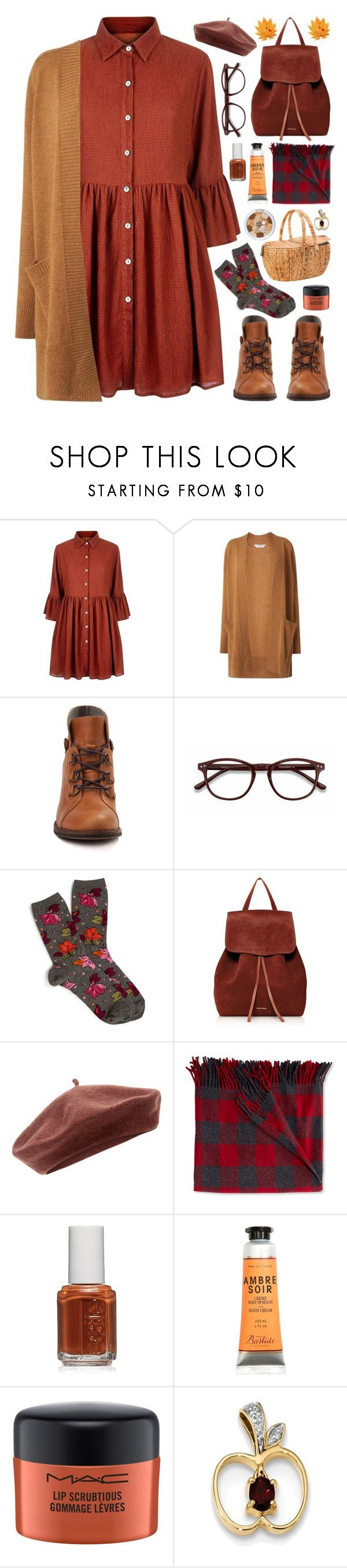 """Harvest Time"" by stavrolga on Polyvore featuring John Lewis, Mela Loves London, L.K.Bennett, EyeBuyDirect.com, Vera Bradley, Mansur Gavriel, Accessorize, L.L.Bean, Essie and MAC Cosmetics"