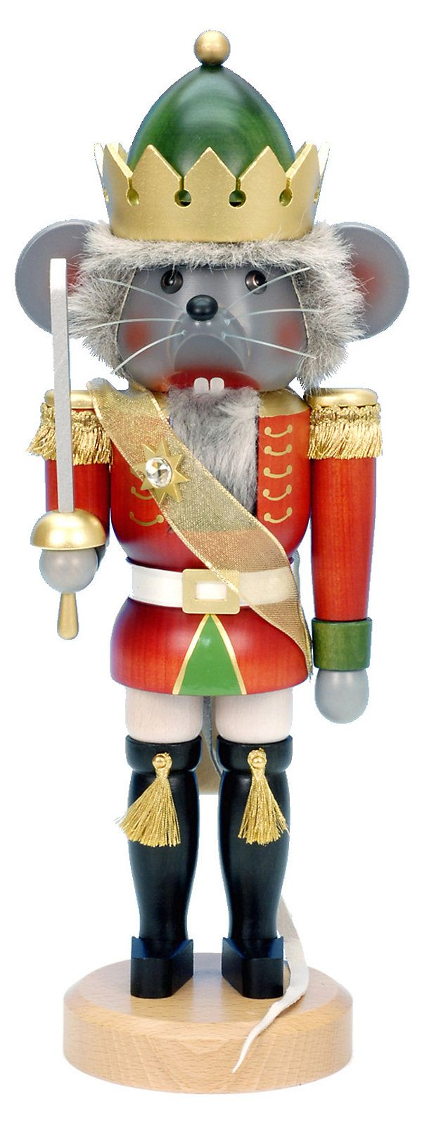 "One Kings Lane - The Nutcracker Suite - 16"" Mouse King Nutcracker"
