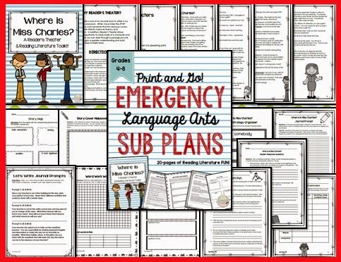 Sub Plans in Case of Emergency: Don't Leave School Without Them!